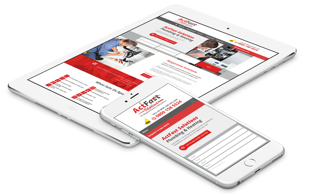 an exampe of a Mobile Friendly Web Design service we provided for a small business