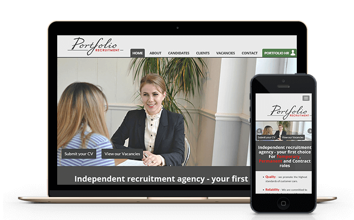 we provide web design services for the recruitment consultants and specialists in Surrey and London