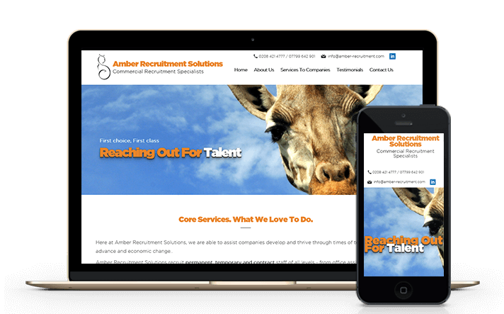 Immersive Media specialises in providing mobile friendly responsive recruitment websites and complex recruitment website systems